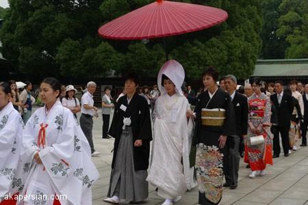 آداب و رسوم عروسی و ازدواج ژاپنی ها