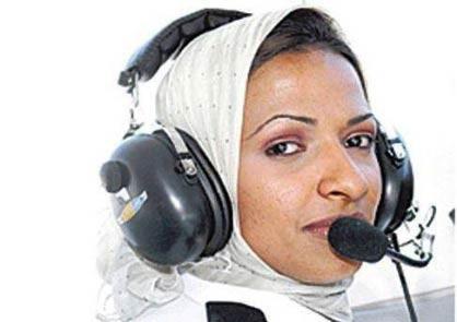 اولین خلبان زن عربستان سعودی