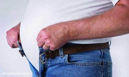 دلیل برجسته شدن شکم مردان پس از لاغری