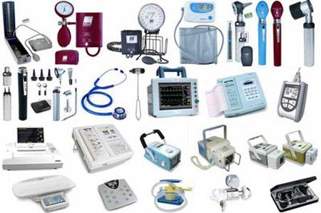 معرفی تجهیزات و لوازم پزشکی به صورت تفکیک شده