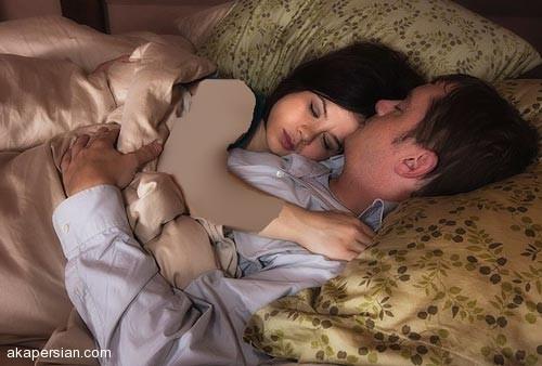 انواع مدل خوابیدن با همسر