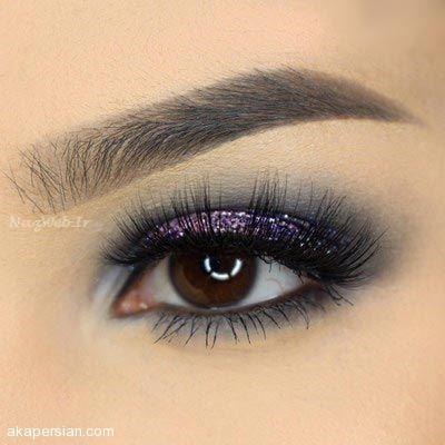 مدل آرایش چشم و ابرو 97 - 2018