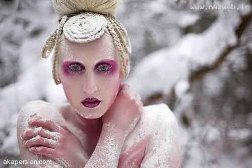 عکس های دیدنی از عیجب ترین آرایش های دخترانه