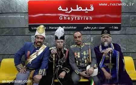 بازیگران مطرح سریال قهوه تلخ در مترو (+تصاویر)
