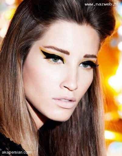 مدل های زیبا از جدیدترین خط چشم های زنانه