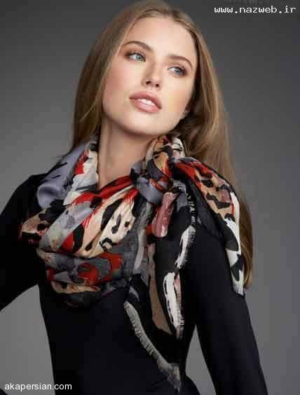 مدل های بسیار زیبای دستمال گردن دخترانه