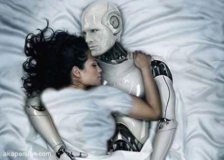 دختری که با ربات دارای آلت جنسی ازدواج کرد + عکس 18+