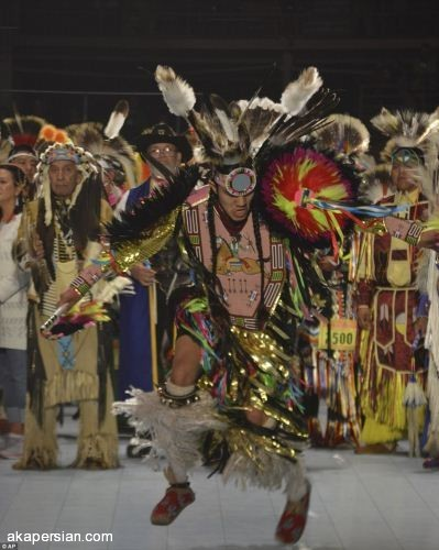 رقص سرخ پوستی بومیان آمریکایی (تصاویر)