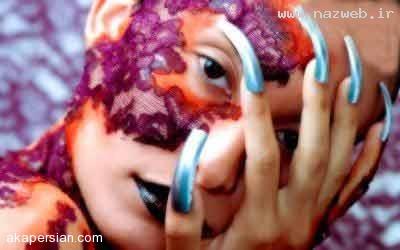 عکس های دیدنی از عیجب ترین آرایش های زنانه