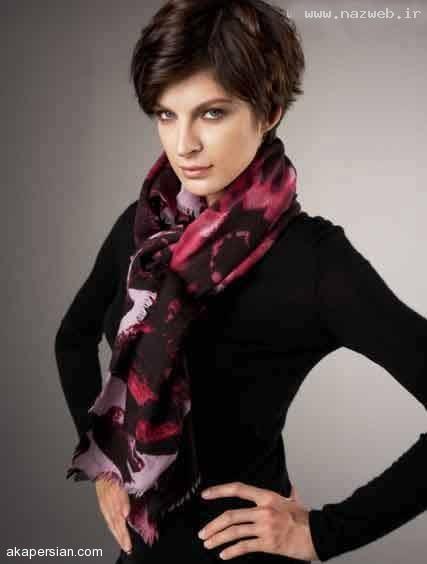 جدیدترین مدل های دستمال گردن دخترانه