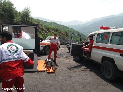 عکس های جان باختگان انفجار مهیب معدن آزاد شهر گلستان