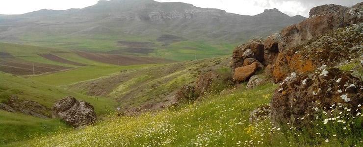 روستایی نیمه ایرانی و نیمه اروپایی در ایران